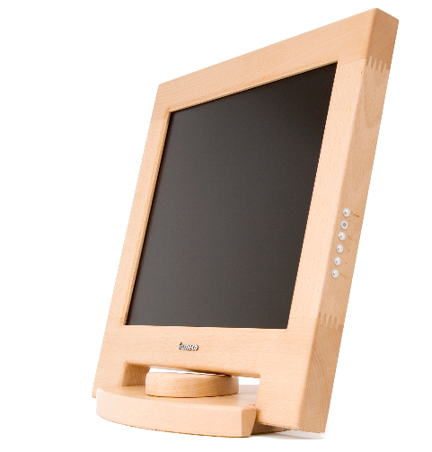 iameco wooden computer monitor