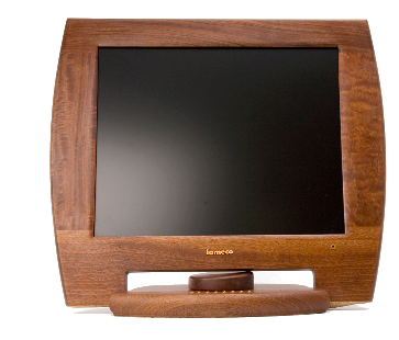 iameco wooden monitor