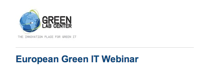 Green Lab Center - Webinar